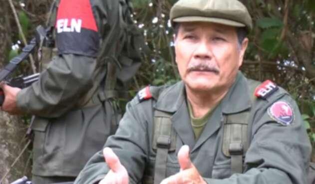 Alias Gabino, jefe máximo de la guerrilla del ELN