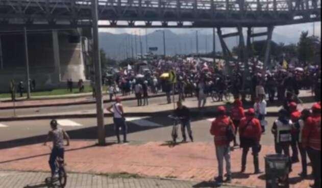 Enfrentamientos entre estudiantes y ESMAD