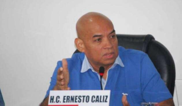 Ernesto Caliz, concejal de Montería involucrado en episodio de ¿usted no sabe quién soy yo?