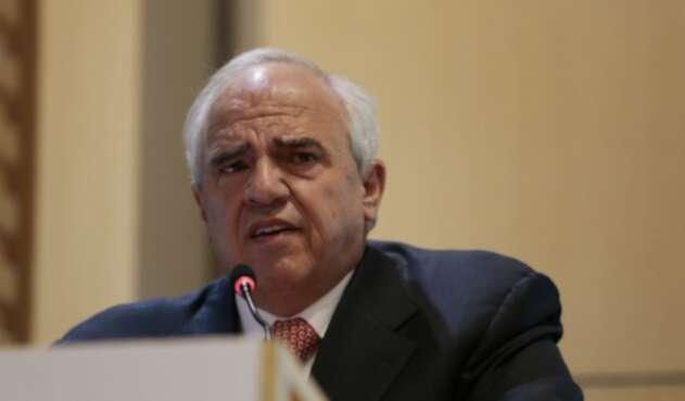El expresidente Ernesto Samper Pizano