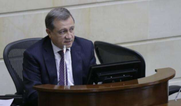 Ernesto Macías, presidente del Congreso