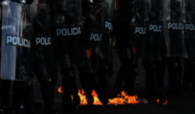 Esmad de la Policía Nacional