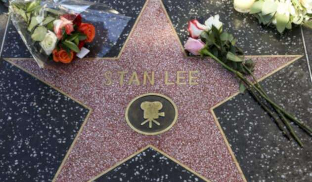Estrella de Stan Lee en el Paseo de la Fama de Hollywood