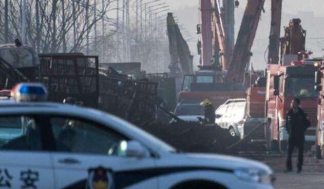 Explosión en planta química China cobró 22 vidas