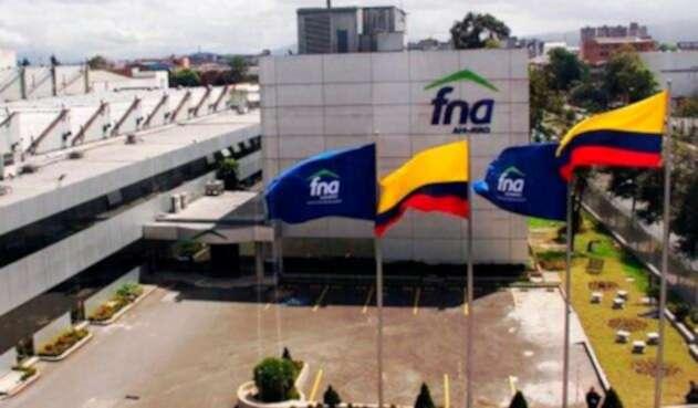 La sede en Bogotá del Fondo Nacional del Ahorro