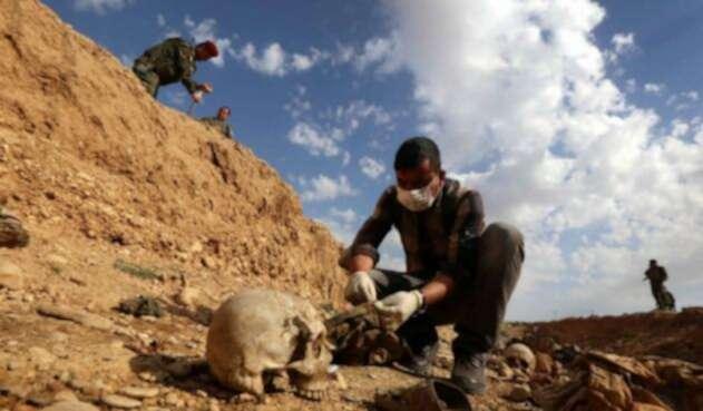 Hallan fosas comunes en Irak