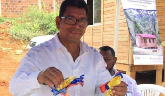Alcalde de El Bagre, Ángel Mesa Castro