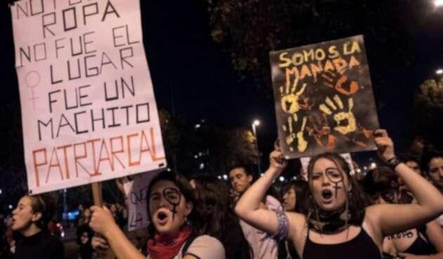 Marchas feministas