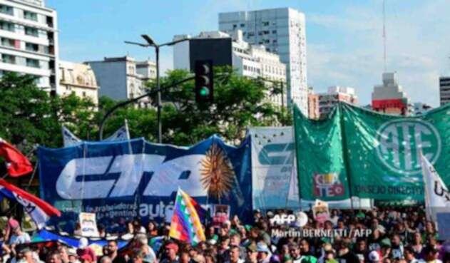 Marchas en Buenos Aires en el marco del G 20