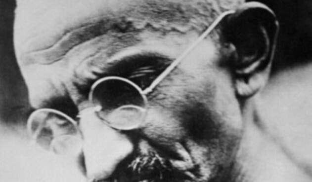 Mahatma Gandhi fue un activista y pacifista de India.