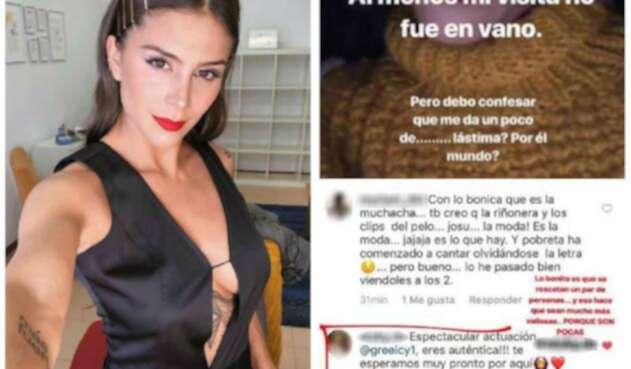 Greeicy Rendón Molesta Por Criticas A Su Riñonera La Fm