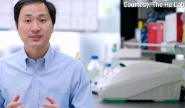 He Jiankui, científico chino