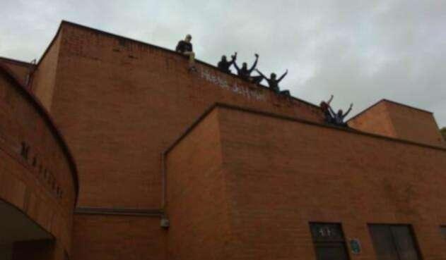 Huelga de hambre de los estudiantes de la UTP en Pereira