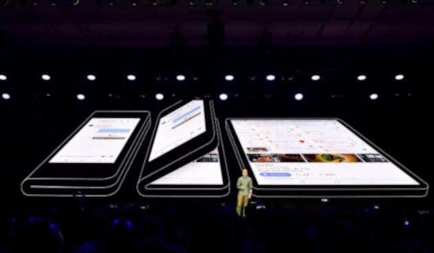 Infinity flex, pantalla plegable de Samsung