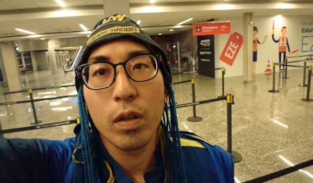 Isamu Kato, ciudadano japonés seguidor de Boca