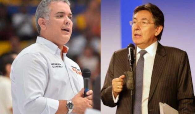 Iván Duque responde a propuestas de Néstor Huberto Martínez