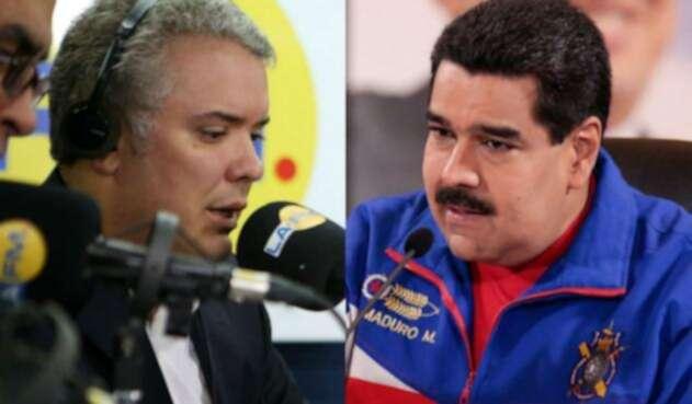 Los gobierno de Duque y Maduro está en constante confrontación.