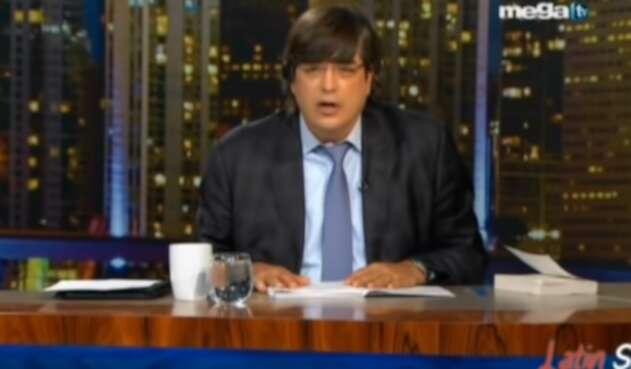 Jaime Bayly, presentador peruano