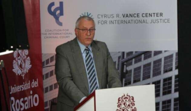 James Stewart, fiscal adjunto de la Corte Penal Internacional, así se refirió sobre la JEP