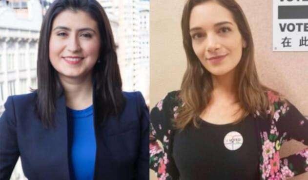 Jessica Ramos y Julia Salazar, colombianas que entran a la asamblea de Nueva York