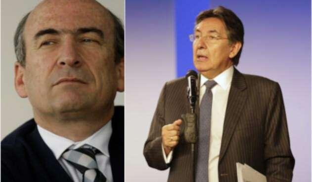 Jorge Enrique Pizano y Néstor Humberto Martínez