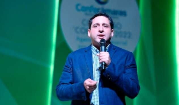 José Andrés Romero, director de la DIAN (Dirección de Impuestos y Aduanas Nacionales)