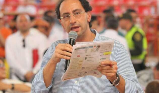 José Manuel Restrepo, ministro de Comercio, Industria y Turismo