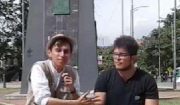 Juan Diego, estudiante de la UIS en Bucaramanga