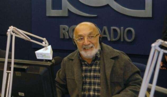 Juan Gossaín, exdirector de RCN Radio, en Bogotá