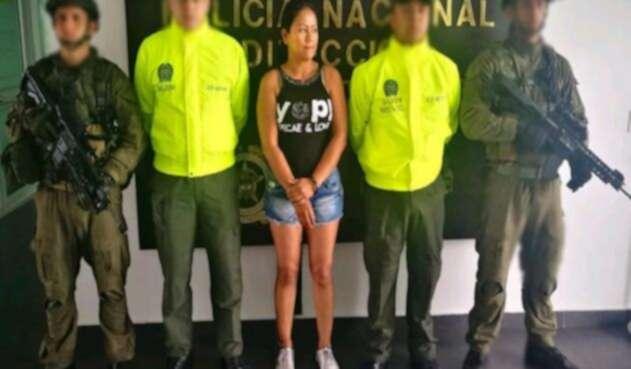 Alias la Zarca, sobrina de alias Otoniel deberá pagar siete años de prisión