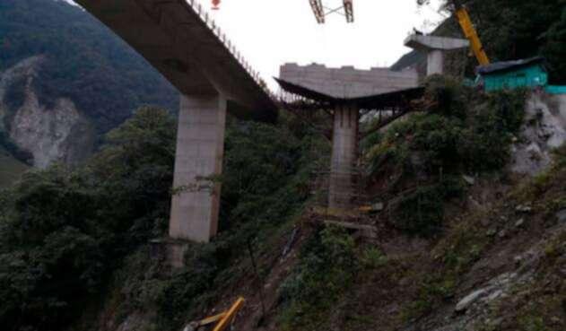 El siniestro en el viaducto La Pala