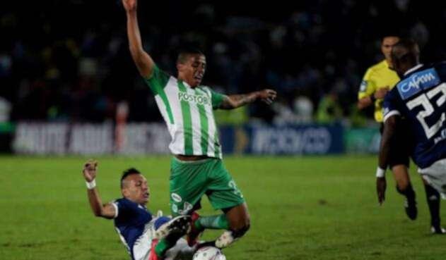 Jeison Lucumí, jugador de Atlético Nacional