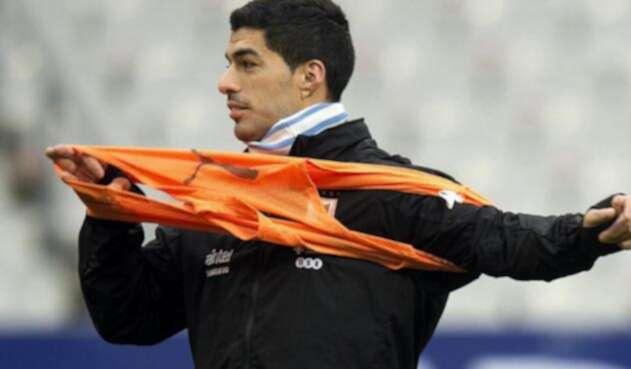 Luis Suárez, delantero uruguayo