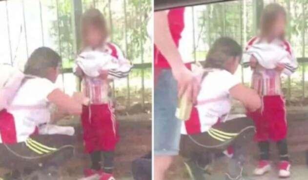 Justicia deja libre a la madre que colocó bengalas a su hijo en el River-Boca