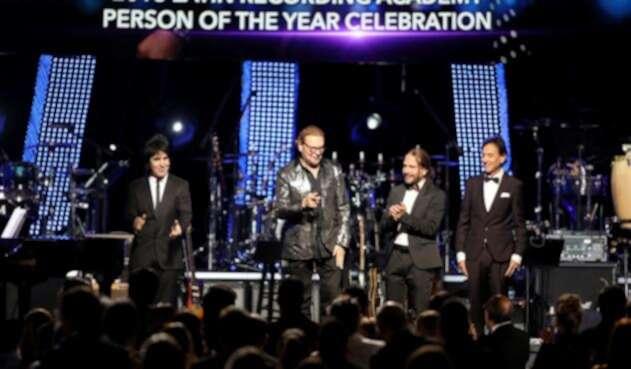 Maná recibe el premio a 'Persona del Año' en los Latin Grammy