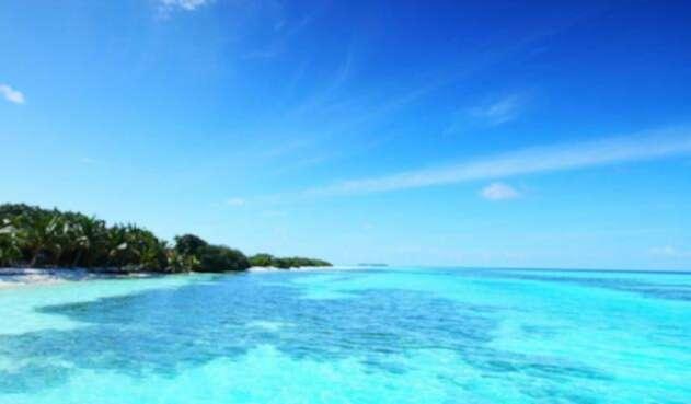 Mar azul, recurso hídrico