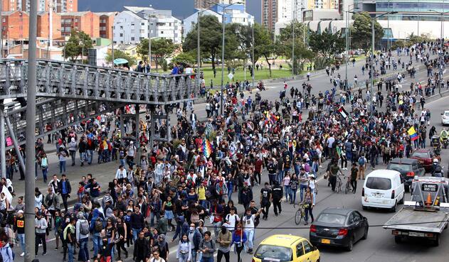 Marchas estudiantiles