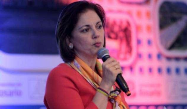 María del Rosario Guerra, senadora del Centro Democrático