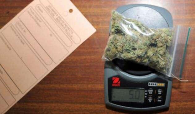 Venta de marihuana recreativa