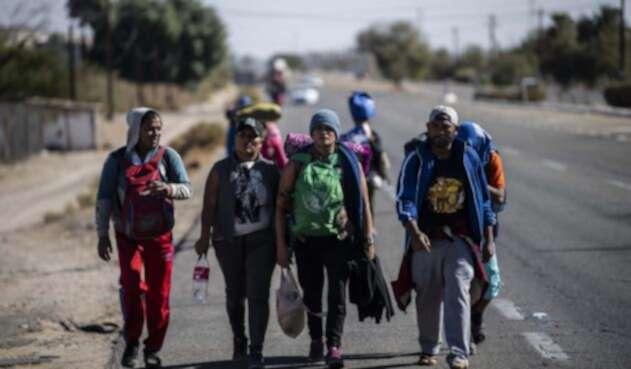 Los migrantes en México tiene en líos a Baja California