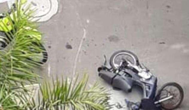 Motociclista muere tras disparo de un policía en Envigado, Antioquia