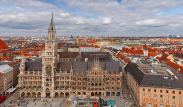 El Town Hall Marienplatz de Múnich, en Alemania