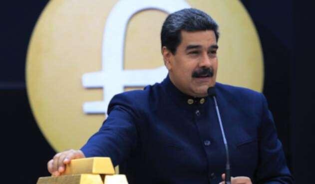Nicolás Maduro, presidente de Venezuela, el 22 de marzo de 2018 en Caracas