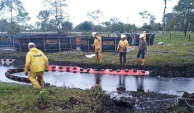 Emergencia tras atentado al oleoducto Cubará (Boyacá)