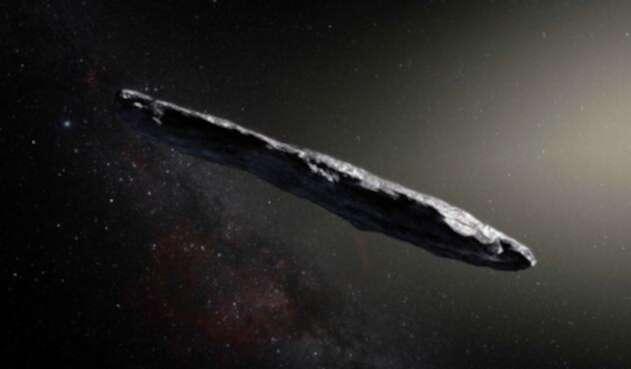Oumuamua, el objeto hallado en el Sistema Solar