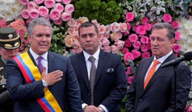 Acto de posesión del presidente electo Iván Duque
