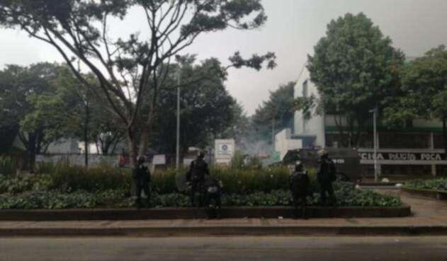 Protestas en la Universidad Nacional y Pedagógica