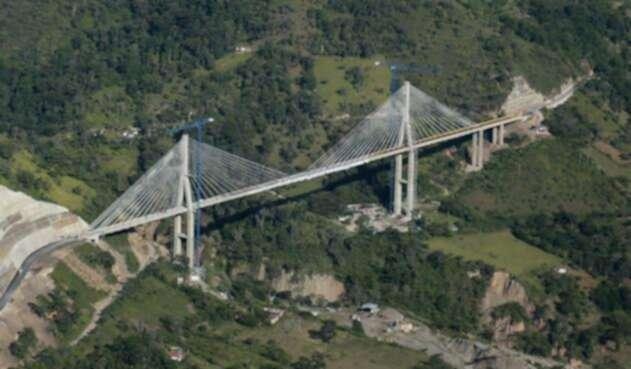Vista general del Puente de Hisgaura