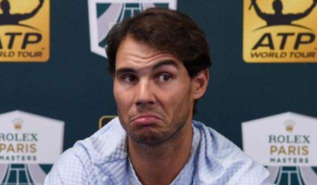 Rafael Nadal se perderá el Torneo de Maestros por una lesión en el tobillo