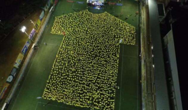 Bucaramanga impuso Record Guinness